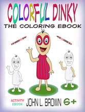 Colorful Dinky The Coloring Ebook