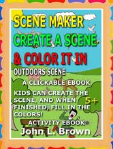 Scene Maker Coloring Ebook